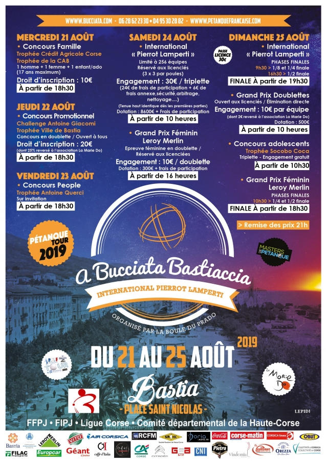 {WebTV Qualif'Masters} International Pierrot Lamperti à Bastia - 24 & 25 août