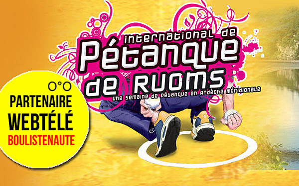8ème International à pétanque de Ruoms, 3 et 4 septembre - WebTV
