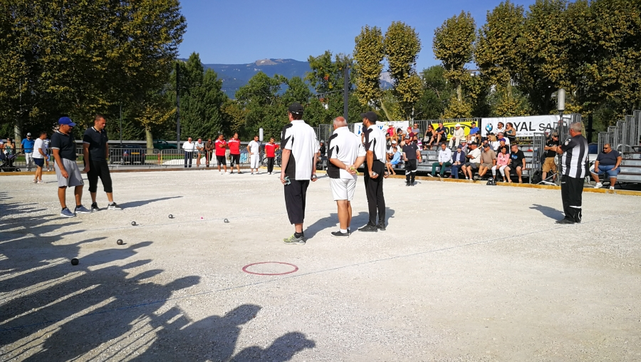 Re: 3ème international à pétanque de Grenoble 13-14-15 septembre