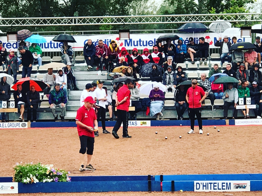 Re: {WEBTV - QUALIF'MASTERS} International d'Andrézieux-Bouthéon - 8 & 9 juin