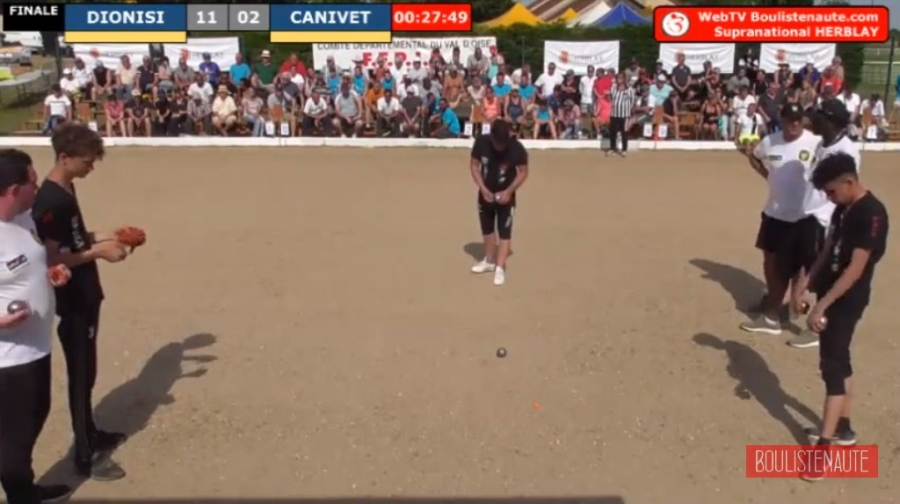 Re: {WEBTV} Supranational à pétanque d'Herblay - 22 & 23 juin