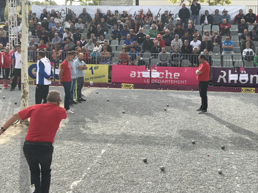Re: 9ème International à pétanque de Ruoms, 16 & 17 septembre - Avec WebTV