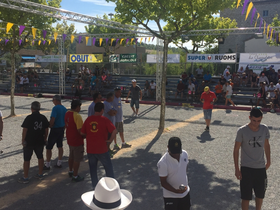 Re: 8ème International à pétanque de Ruoms, 3 et 4 septembre - WebTV