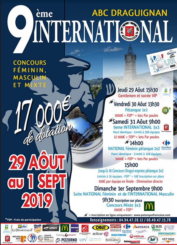 {WEBTV PRO} International à pétanque de Draguignan - 31 août et 1e Sept