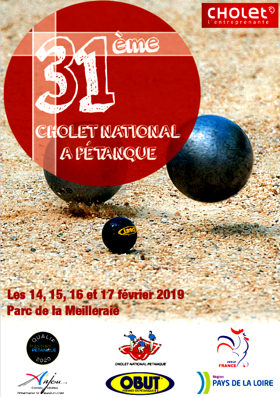 Re: 31e National de Cholet - 16/17 Février 2019