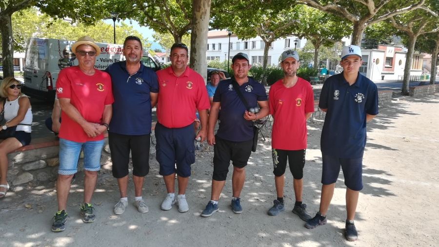 Re: National à pétanque de Céret - 11 & 12 août