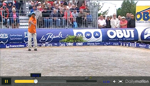 Journal Masters de P�tanque 2011 : Episode 8 (finale - LA BAULE)