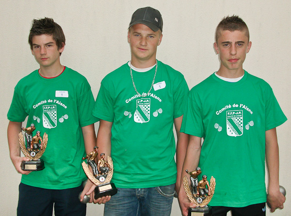 Coupe de Picardie juniors 2011