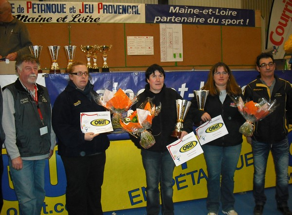 National f�minin de Cholet 2012