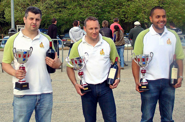 Chpt. du Lot triplette promotion 2012