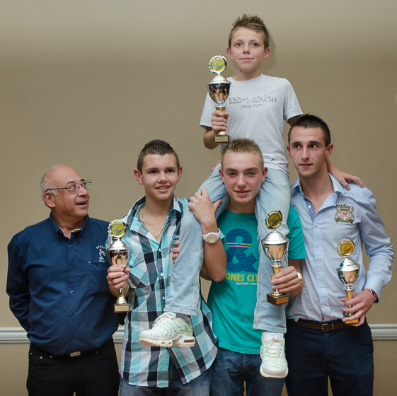 Championnat d&#039;Europe Fminines et Jeunes 2012  Gand (B)