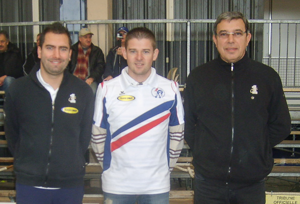 Quarts de finalistes du National  ptanque de Cholet