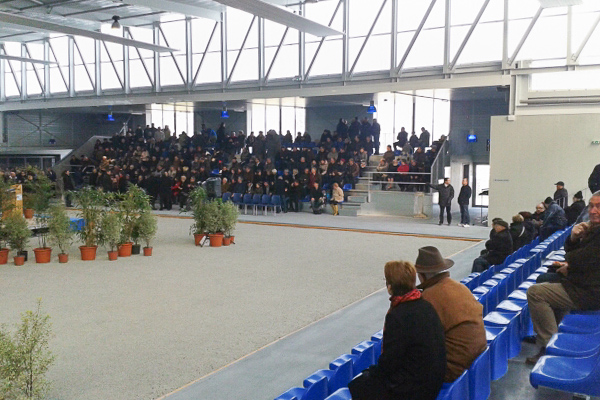 Inauguration de lEspace Garonne, le 23 fvrier 2013