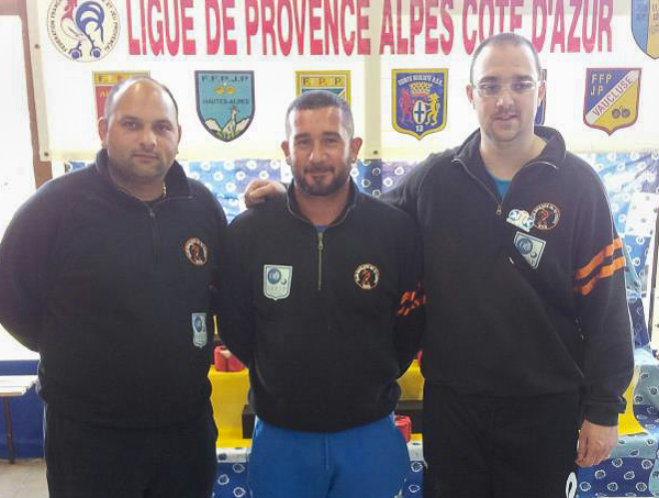 Qualificatif de ligue PACA triplette 2013