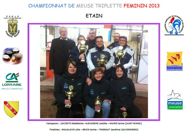 Championnat de la Meuse triplette