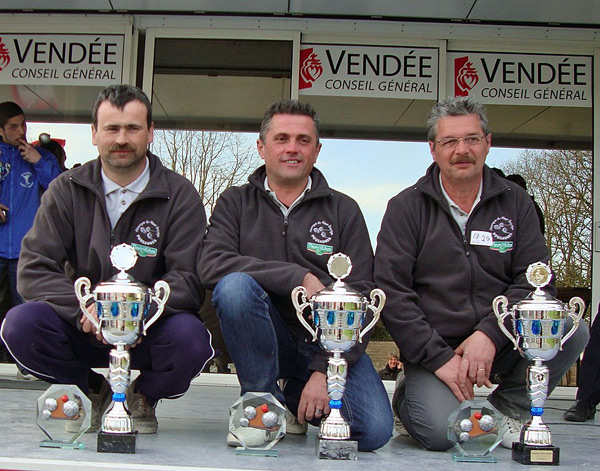 Champions de Vende Promotion 2013