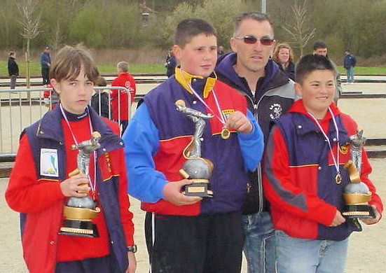 Chpt. Basse-Normandie cadets 2006