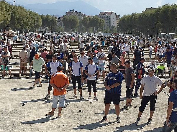 1er National à pétanque de Grenoble, avec France Espoirs