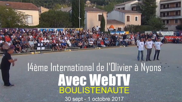 14ème International de l'Olivier à Nyons - 30 sept - 1 octobre - Avec WebTV