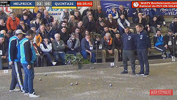 National du Puy Pétanque : Top Vidéo Quintais vs Labrue