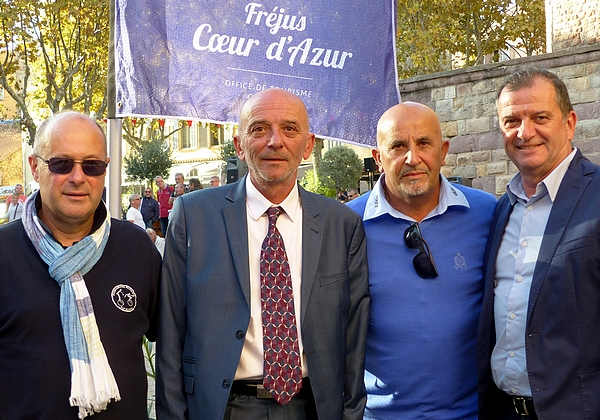 Lancement du Fréjus International Pétanque