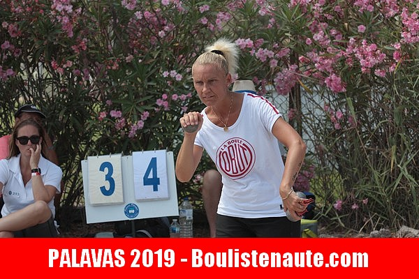 International à pétanque de Palavas-les-Flots direct WebTV 100% féminin ! Angélique COLOMBET