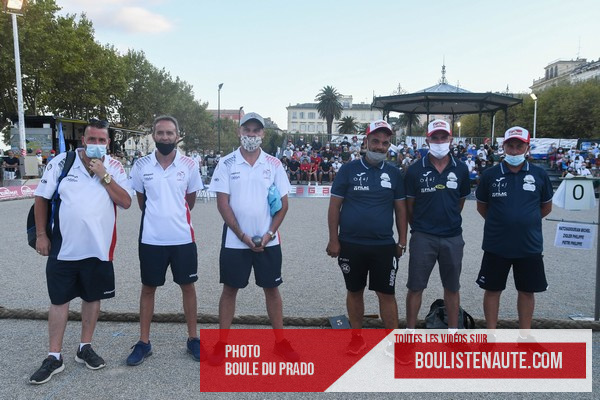 International à pétanque Pierrot LAMPERTI à Bastia - Le REPLAY de la finale