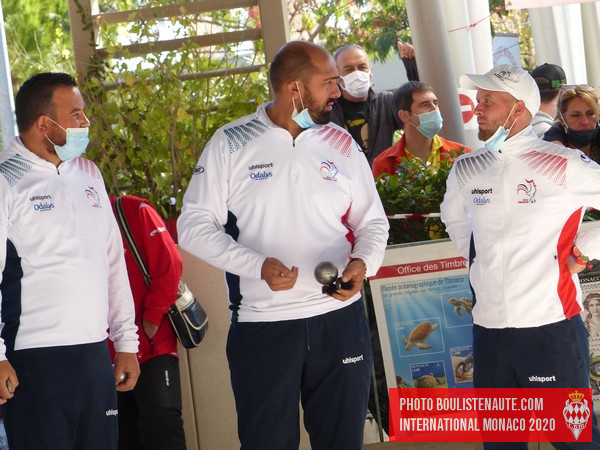 International à pétanque de Monaco 2020 - Equipe de France finaliste