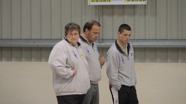 Saint Jean d'Angely - Groupe A - Mixte Marmagne