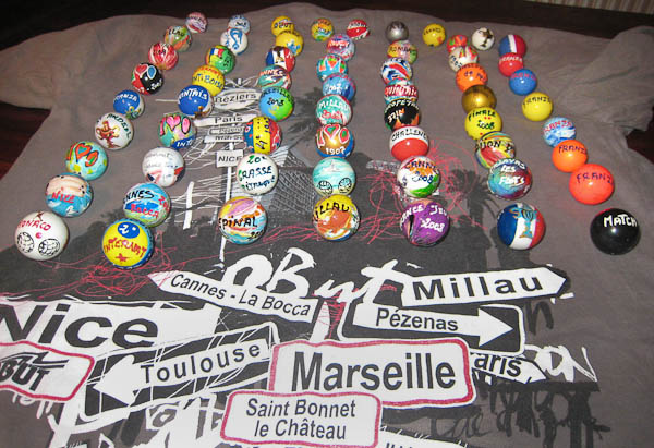 Collection de bouchons