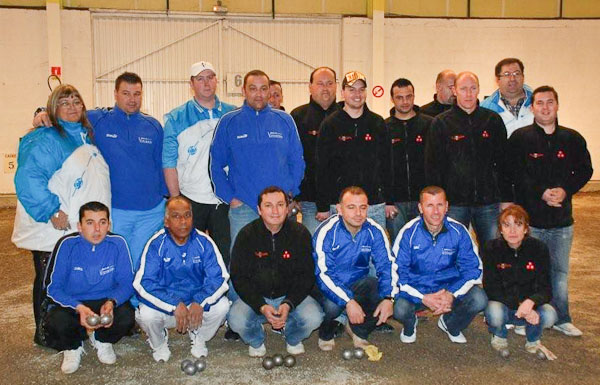 Team P�tanque Carcassonne - Vitrolles, zone 2