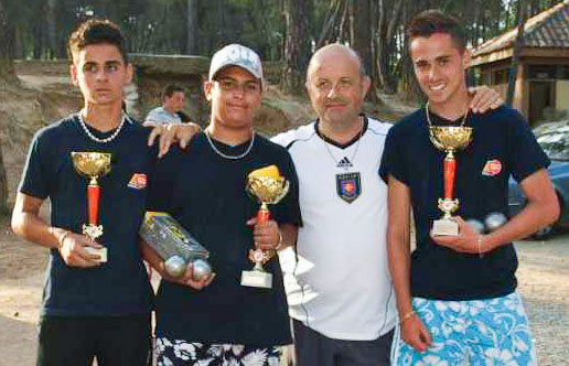National de Besilles juniors 2009