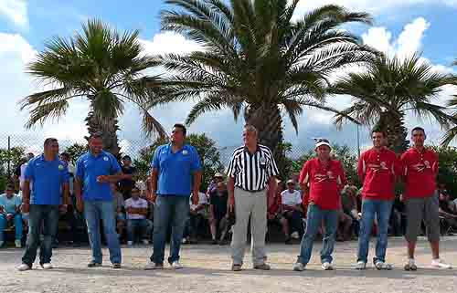 1er International de Palavas à pétanque