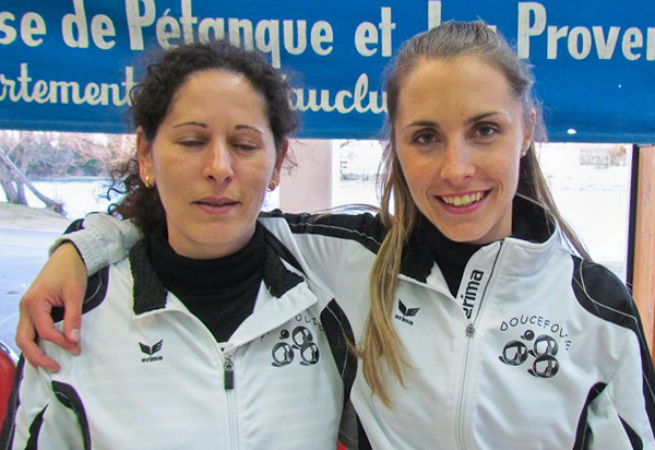 Qualification de Vaucluse doublette f�minin 2011 pour la Ligue