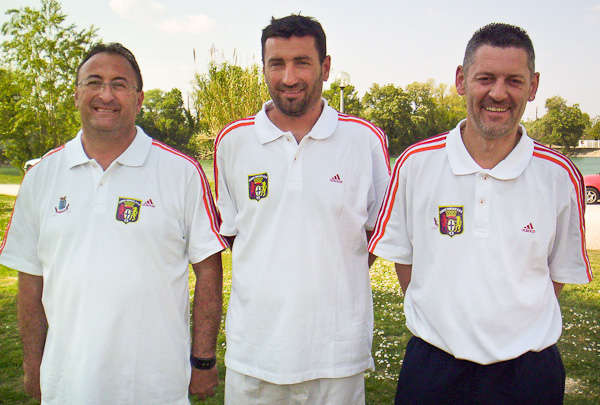 Qualificatif PACA triplette masculin 2011