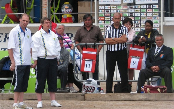Championnat de France Doublettes Mixtes 2011 : apr�s-midi de la premi�re journ�e