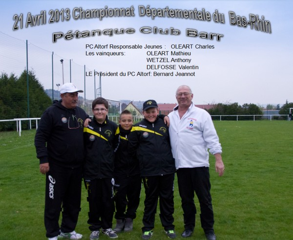 Championnat du Bas-Rhin (67) jeunes