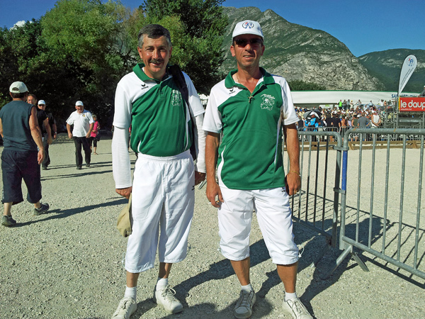 Championnat de France doublette senior � Sassenage
