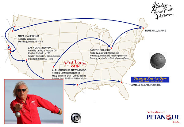 Marco Foyot Tour of the United States