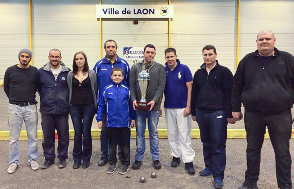 Coupe de l'An 2014 à Laon