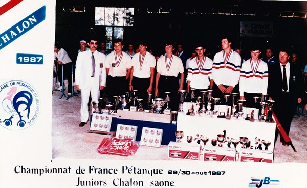 Championnat de France junior 1987