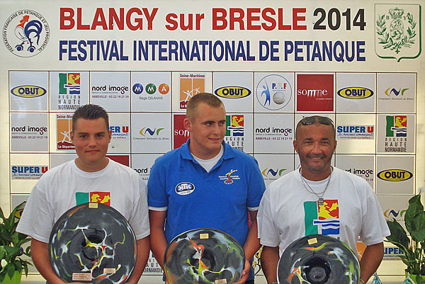 Blangy, Festival International de la Vallée de la Bresle - Podium