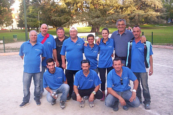 Coupe de France de pétanque ZONE 1, 2014/2015