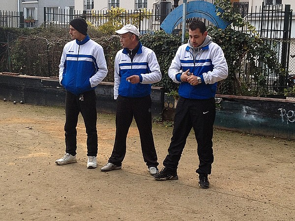 Coupe de France de pétanque ZONE 6, 2014/2015