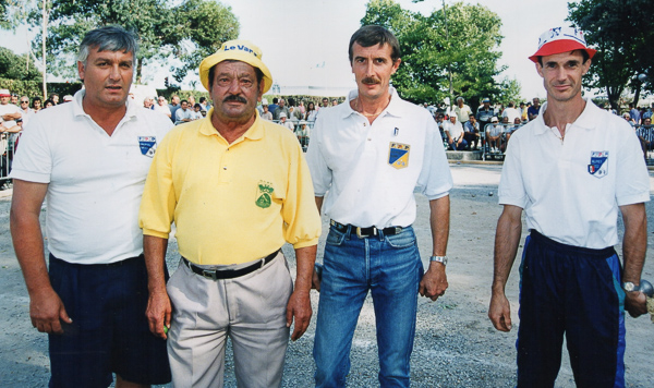 Bébert de Cagnes au National de Cagnes 1996