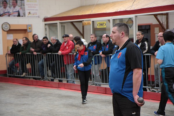 Saint-Alban 21 février 2015 : Bourbon-Lancy vs Saint-Florent-sur-Cher 23
