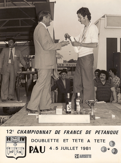 Dominique Aquilino vice-champion de France TàT 1981