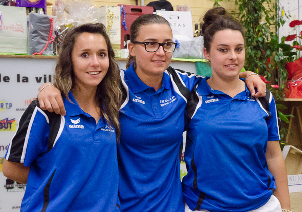 1er International Féminines triplettes de Nyons 2015