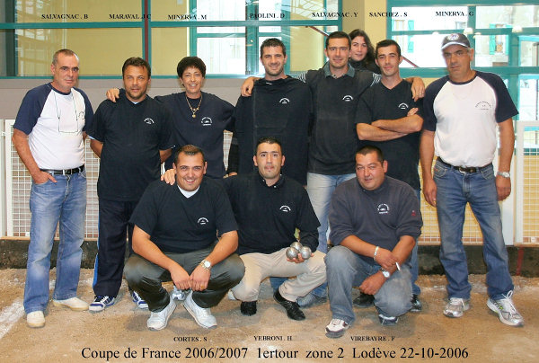 Lod�ve contre Bages, zone 2