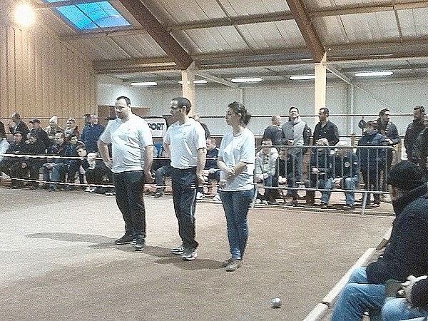Coupe de France de pétanque ZONE 03 : Le Coteau vs Cournon d'Auvergne